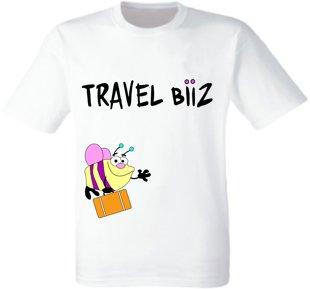 """Bērnu T-krekls """"Travel Biiz bite"""""""