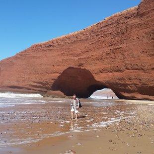 Fantastiskā Legziras pludmale